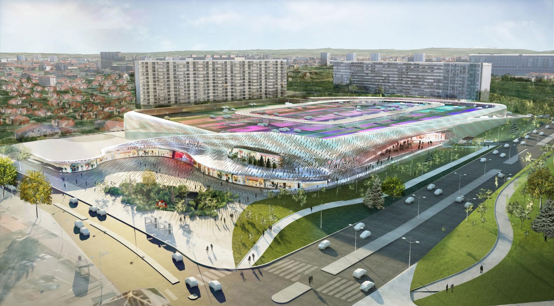 Shopping center lyon bron moatti rivi re - Centre commercial bron ...