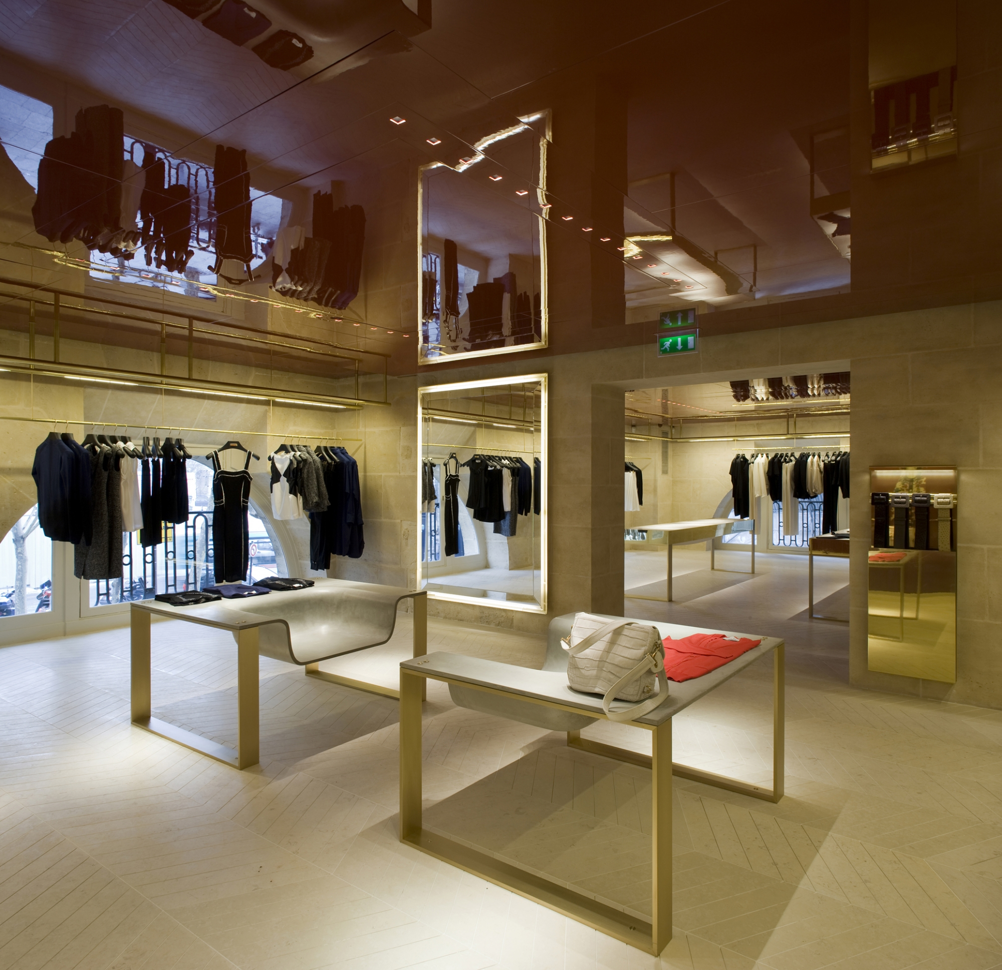 Boutique YSL (Yves Saint Laurent), Paris Moatti & Rivière
