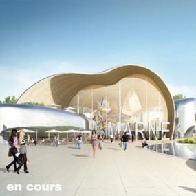 Centre commercial, Champigny-sur-Marne