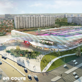 Shopping Center, Lyon Bron