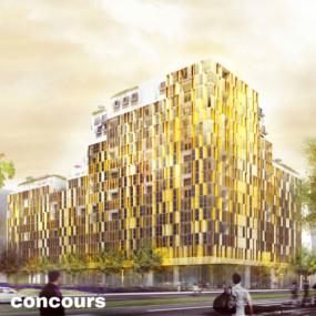 250 logements et commerces, Paris
