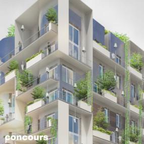 84 logements et commerces, Paris