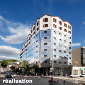 Student residence of 176 rooms, Bagnolet