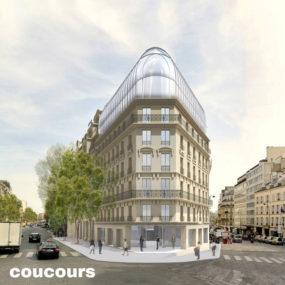Immeuble de bureaux, Boulevard Haussmann, Paris
