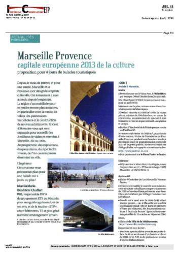Musée Borély – INGENIEUR CONSTRUCTEUR