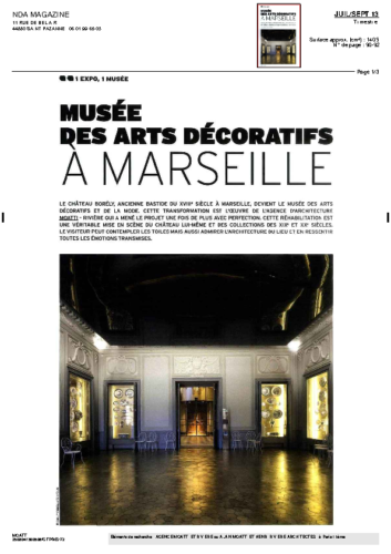Musée Borély – NDA