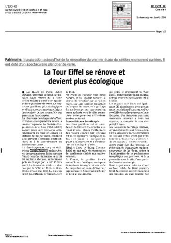 Tour Eiffel – L'ECHO