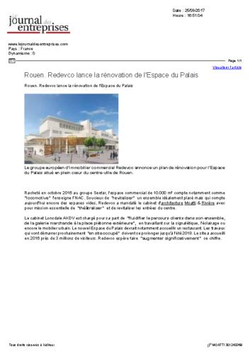 Espace du Palais – JOURNAL DES ENTREPRISES