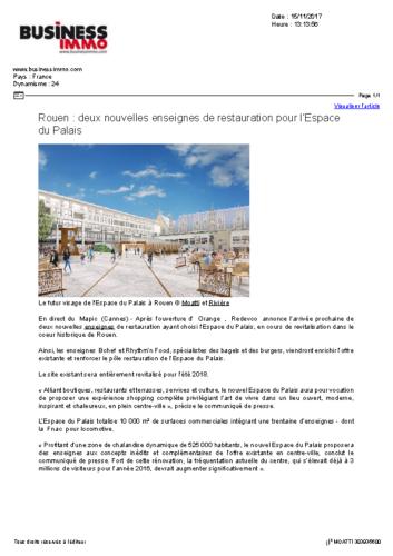 L'Espace du Palais – BUSINESS IMMO