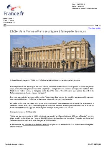 Hôtel de la Marine – FRANCE