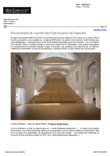 Les Franciscaines – ABC LUXE