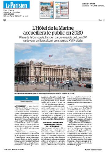 Hôtel de la Marine – LE PARISIEN