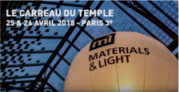 Materials & Light 2018 - Alain Moatti