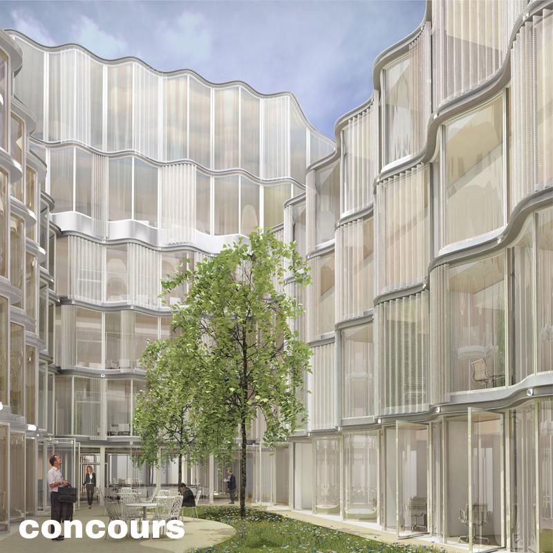 immeuble de bureaux rue fran ois 1er paris moatti. Black Bedroom Furniture Sets. Home Design Ideas