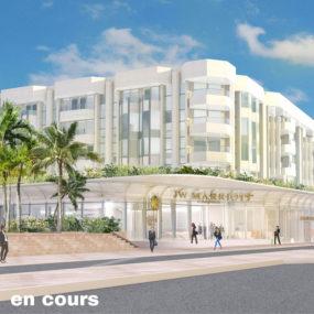 Espace commercial, Hôtel JW Marriott, Cannes
