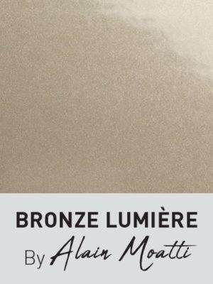 Nouvelle couleur Bronze Lumière signée Alain Moatti avec Technal